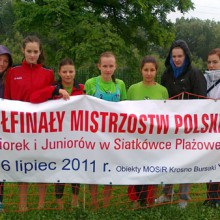 PÓŁFINAŁ MP JUNIOREK 2011 KROSNO